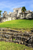 Mayan ruins of Tulum Mexico Stock Photography