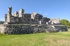 Mayan Ruins Royalty Free Stock Photo