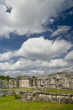 Mayan ruins at Tulum, Mexico stock photo