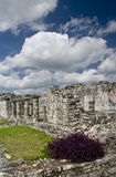 Mayan Ruins at Tulum Mexico Royalty Free Stock Images