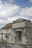 Mayan ruins at Tulum, Mexico Royalty Free Stock Photography