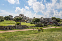 Mayan Ruins - Tulum, Mexico stock photo