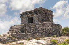 Mayan ruins at Tulum Mexico. Near Cancun Stock Image