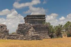 Mayan ruins at Tulum Mexico. Near Cancun Royalty Free Stock Photo