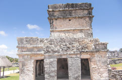 Mayan ruins at Tulum Mexico. Near Cancun Royalty Free Stock Images