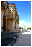 Archaeological site of Uxmal. Mexico. stock images