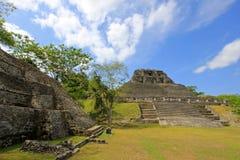 Mayan ruins Xunantunich, San Ignacio, Belize Royalty Free Stock Photos