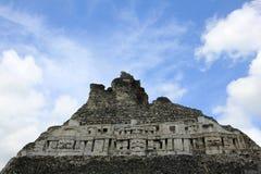 Mayan ruins Xunantunich, San Ignacio, Belize Royalty Free Stock Images