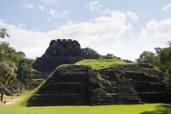 Mayan ruins at Xunatunich, Belize. Mayan ruins in the country of Belize, at Xunatunich Stock Image