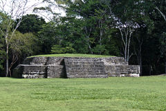 Mayan ruins at Xunatunich, Belize. Mayan ruins in the country of Belize, at Xunatunich Royalty Free Stock Image