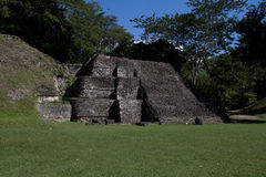 Mayan ruins at Xunatunich, Belize. Mayan ruins in the country of Belize, at Xunatunich Royalty Free Stock Photography