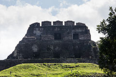 Mayan ruins at Xunatunich, Belize. Mayan ruins in the country of Belize, at Xunatunich Stock Photos