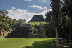 Mayan ruins at Xunatunich, Belize. Mayan ruins in the country of Belize, at Xunatunich Royalty Free Stock Photo