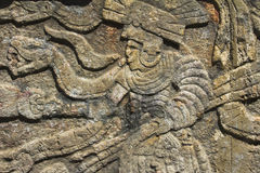 Mayan Sculpture Stock Photography
