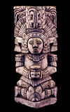 Mayan sculpture Royalty Free Stock Photo