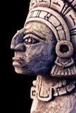 Mayan sculpture Stock Images