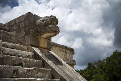 Mayan sculpture Royalty Free Stock Photos