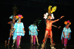 Mayan show Stock Images