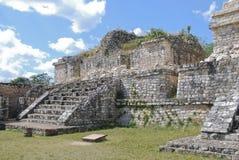 The Mayan site. Of Ek Balam in Yucatan - Mexico Stock Photo