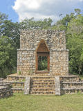 The Mayan site. Entrance Arch in the Mayan site in Ek Balam - Mexico Stock Images