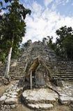 Mayan site of Coba Stock Image
