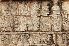 Mayan skulls Stock Image