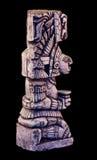 Mayan skulptur Fotografering för Bildbyråer