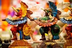 Mayan souvenir statues Stock Images