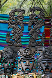 Mayan souvenirs on sale in Chichen Itza Royalty Free Stock Photography