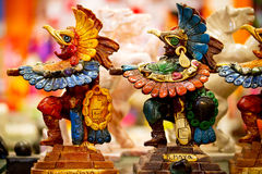 Mayan souvenirstatyer Arkivbilder