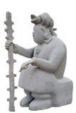 Mayan statue Stock Image