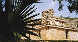 Mayan tempel royalty-vrije stock afbeeldingen