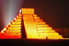 mayan tempel Royaltyfri Foto