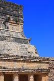 mayan tempel Arkivfoto