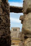 Mayan tempel van Tulum Stock Afbeelding