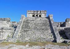mayan temple Royalty Free Stock Images