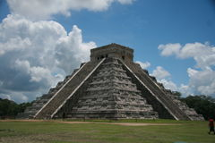 Mayan Temple. Ancient Chichenitza Mayan Temple, Mexico stock photos