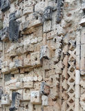 Mayan temple detail in Uxmal Royalty Free Stock Photos