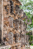 Mayan Temple in Kabah Yucatan Mexico Royalty Free Stock Photos