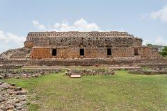 Mayan Temple in Kabah Yucatan Mexico stock photos
