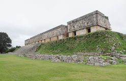 Mayan temple in Uxmal Royalty Free Stock Image