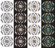 Mayan textuurpatroon stock illustratie