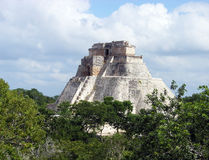 Mayan Verloren Stad Royalty-vrije Stock Afbeelding