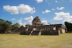 Mayan Waarnemingscentrum Stock Foto