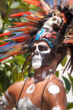 Mayan warrior Royalty Free Stock Photography