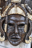 Mayan Wooden Mask Stock Photo