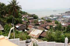 Mayanar/缅甸对比土地  免版税库存照片