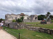 Mayans废墟 库存照片