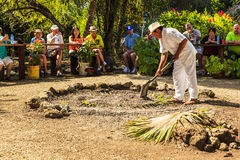 Mayans är välkomnande Fotografering för Bildbyråer
