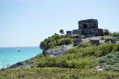 Built in Maya. Mexico. Royalty Free Stock Photography